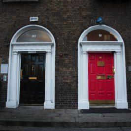 цветные двери дублин ирландия