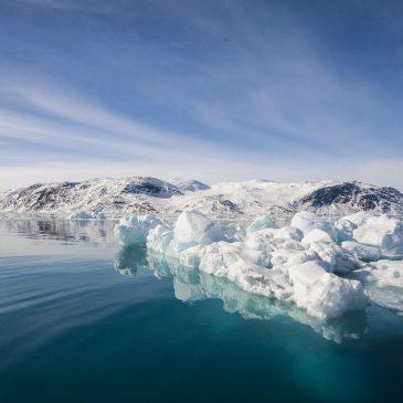 Glaciers of Greenland. Narssap Sermia