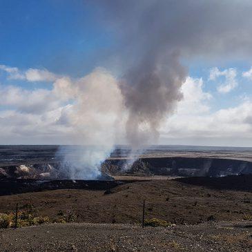 Самый активный вулкан в мире — Килауэа