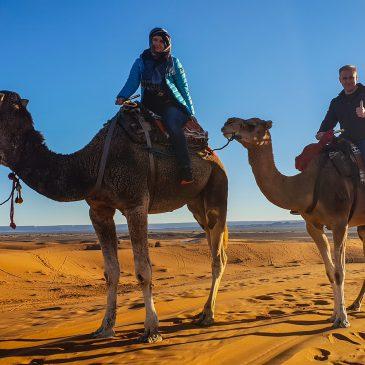 Мерзуга. Провести ночь в пустыне Сахара